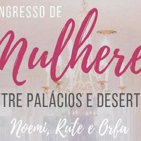 Congresso de Mulheres - Entre palácios e Desertos