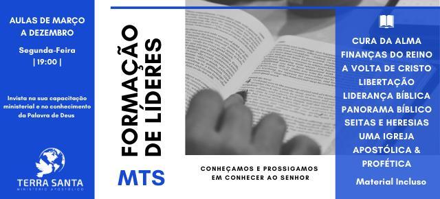 INSTITUTO TERRA SANTA - Preparação de Líderes - 2020