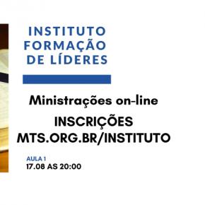 INSTITUTO DE LÍDERES - MÓDULOS ESPECIAIS ON-LINE