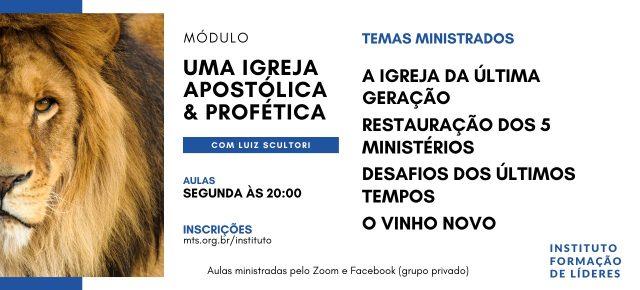 INSTITUTO DE FORMAÇÃO DE LÍDERES - ONLINE